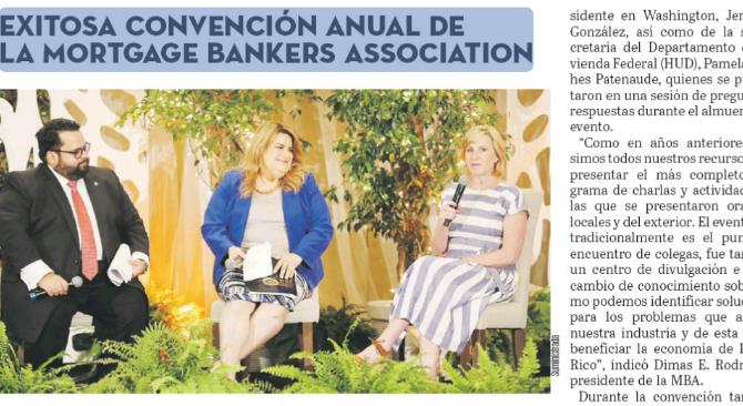 Exitosa Convención Anual de la Mortgage Bankers Association