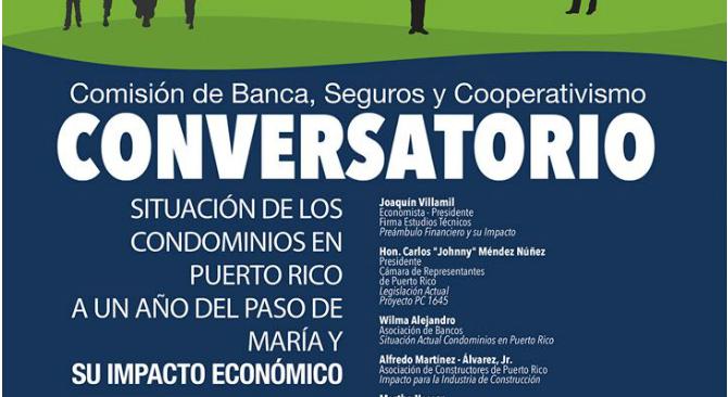 MBA participa en conversatorio sobre la situación de los condominios en Puerto Rico a un año del paso del María