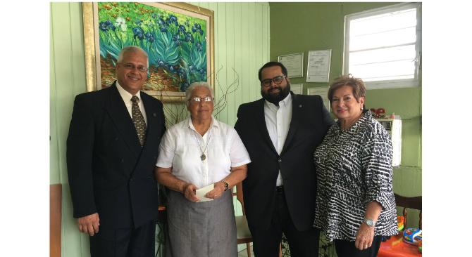MBA y Mloan entregan donativo al hogar La Casa de Todos