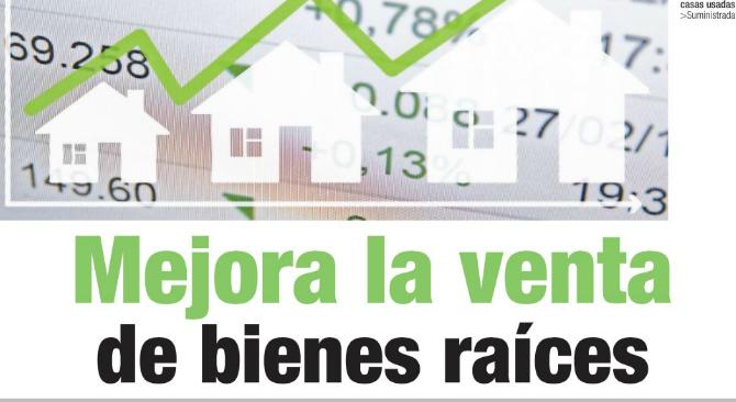 Mejora la venta de bienes raíces