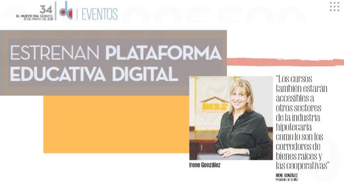 Estrenan Plataforma Educativa Digital