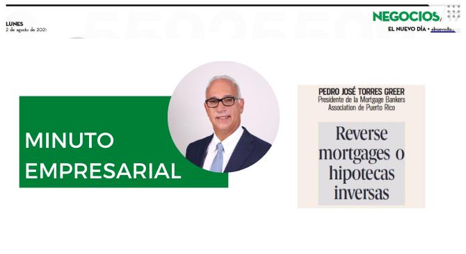 Reverse mortgages o hipotecas inversas